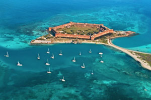 dry tortugas in the florida keys