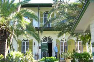 fun in the keys - hemingway's home