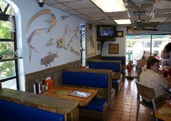 sharkeys galley pet friendly restaurant florida keys